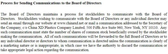 CXDC Board Contacts