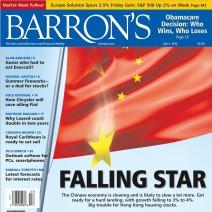 Barrons - China Falling Star
