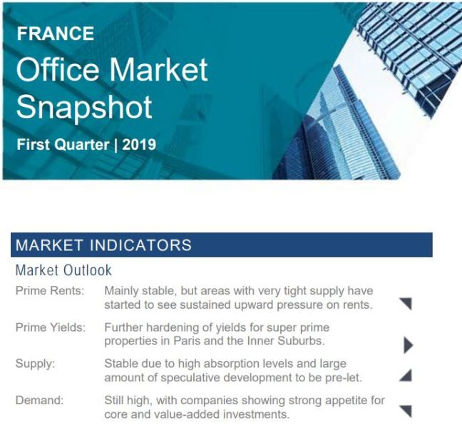 France Office Snapshot 1Q19